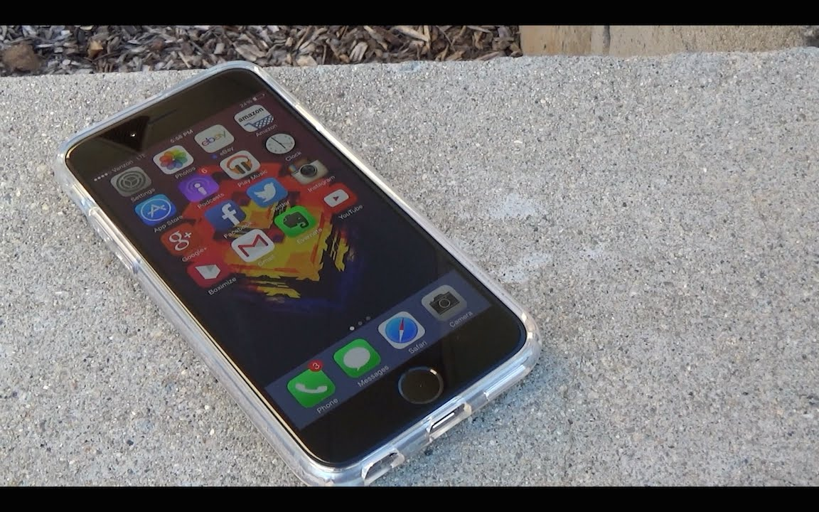 size 40 544d0 3d776 Spigen iPhone 6 (4.7 inch) Ultra Hybrid Case Review!