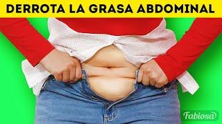 Un efectivo entrenamiento para la grasa del abdomen: Deshazte de la grasa en casa