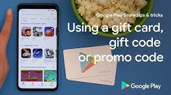 Google Play Store tips & tricks: Using a gift card, gift code or promo code