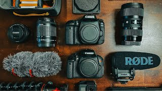 What's in my CAMERA BAG 2020