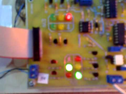 Traffic Light System - Electronic Design Project - YouTube