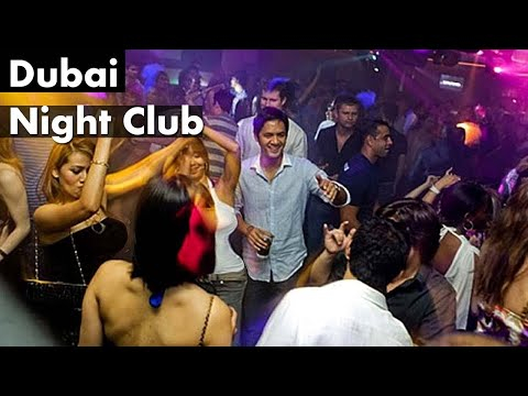 Dubai Night Club DUBAI LUXURY LIFE with VIP GIRLS at night CLUB