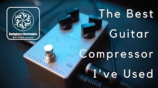 THE BEST GUITAR COMPRESSOR I'VE USED   Darkglass Hyper Luminal Compressor
