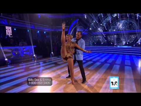 Billy Dee Williams & Emma Star Wars Theme  DWTS 18