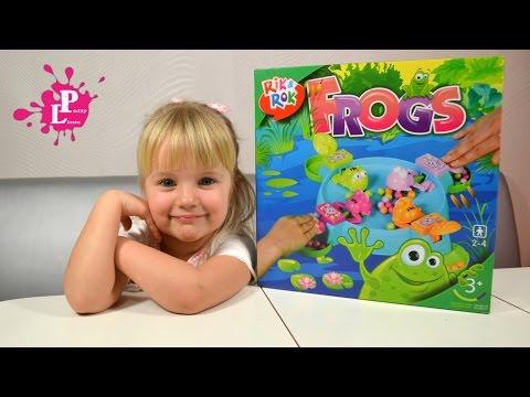 ✿Игра для детей Лягушки RIK&ROK Frogs