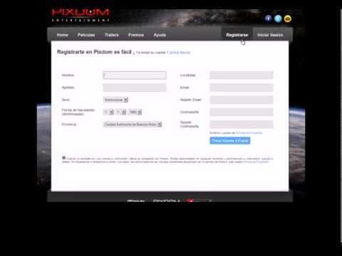 Video Explicativo: ¿Cómo me registro en Pixdom TV?