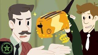 AH Animierte - Brot Leg Toaster