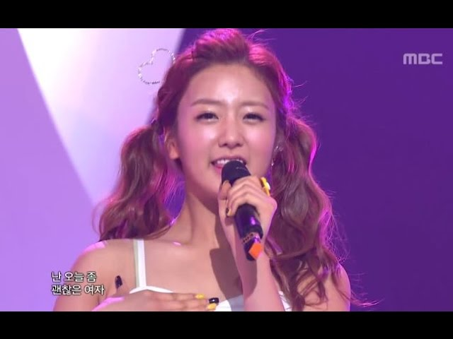 Apink - BUBIBU, 에이핑크 - 부비부, Music Core 20120707