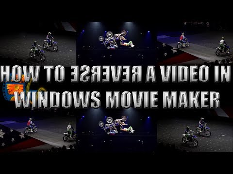 Reverse A Video In Movie Maker | Play A Video Backwards | Method #2