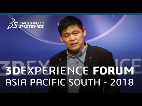3DEXPERIENCE Forum Asia Pacific South 2018 - Welcome Addresses - Dassault Systèmes