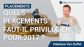 Quels placements faut-il privilégier pour 2017 ? [Vidéo BFM]