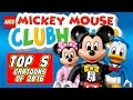 ♥ LEGO Disney Mickey Mouse Clubhouse TOP 5 Cartoons of 2016/2017