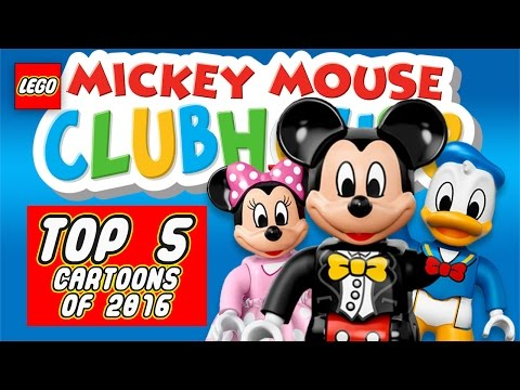 LEGO Disney Mickey Mouse Clubhouse TOP 5 Cartoons of 2016/2017
