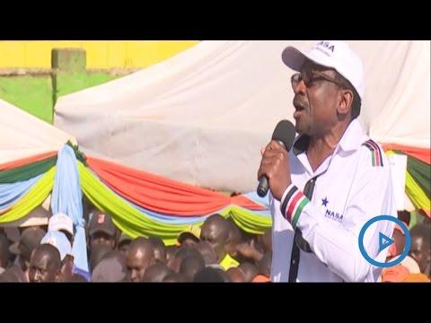 Senator James Orengo speech at the NASA rally in Nairobi