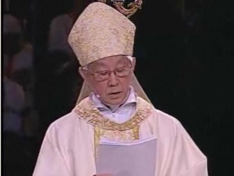 20 juin - Eucharistie présidée par son éminence le cardinal Joseph Zen Ze-Kiun