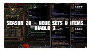 Diablo 3: Neue Items & Sets aus Season 20 (+ Verbotene Archive)
