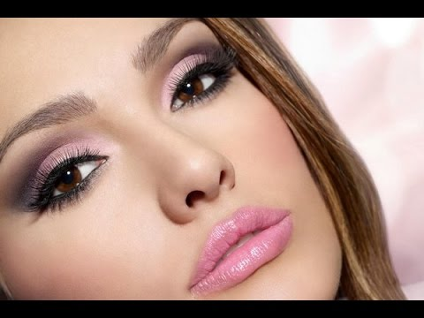 ❀♡Дымчатый макияж глаз/Макияж в розовых тонах❀♡