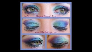Peacock Eye Makeup Tutorial Thumbnail