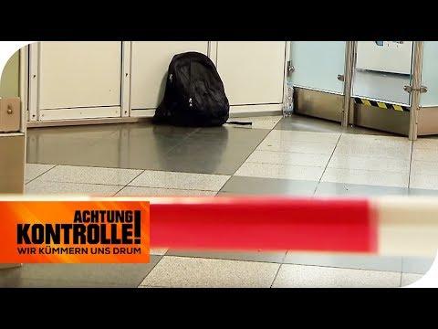 BOMBENALARM - Herrenloser Rucksack am Flughafen München | Achtung Kontrolle | kabel eins