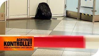 BOMBENALARM - Herrenloser Rucksack am Flughafen München   Achtung Kontrolle   kabel eins