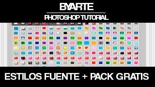 Descargar y Instalar Estilos + Pack Gratis -Tutorial Photoshop [byaRTe]