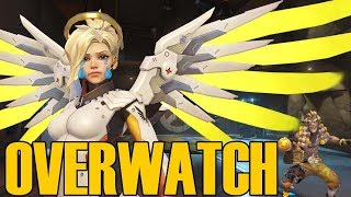 I'M A TERRIBLE HEALER! - Overwatch Quick Play