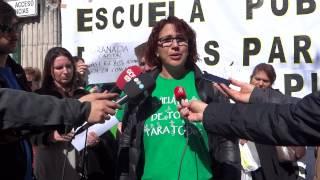 Protesta AMPA Santa Juliana