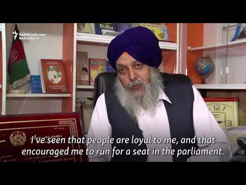 Afghan Sikh Seeks A Seat In Parliament