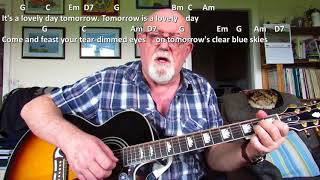 Guitar: It's A Lovely Day Tomorrow (Including lyrics and chords)