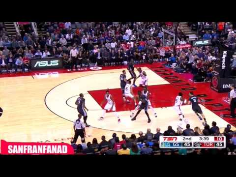 Stephen Curry vs Kyle Lowry UNREAL Duel 2015.12.05 - 85 Pts, 14 Dimes combined