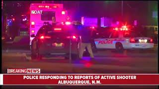 Police respond to reports of active shooter in Albuquerque, New Mexico