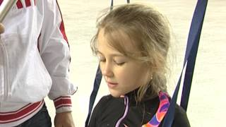 Фигурное катание: дети на олимпийском льду (Олимпстрой, Сочи)