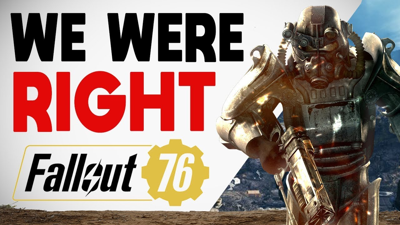 Bethesda Finally Says What We Were ALL Thinking About Fallout 76 thumbnail
