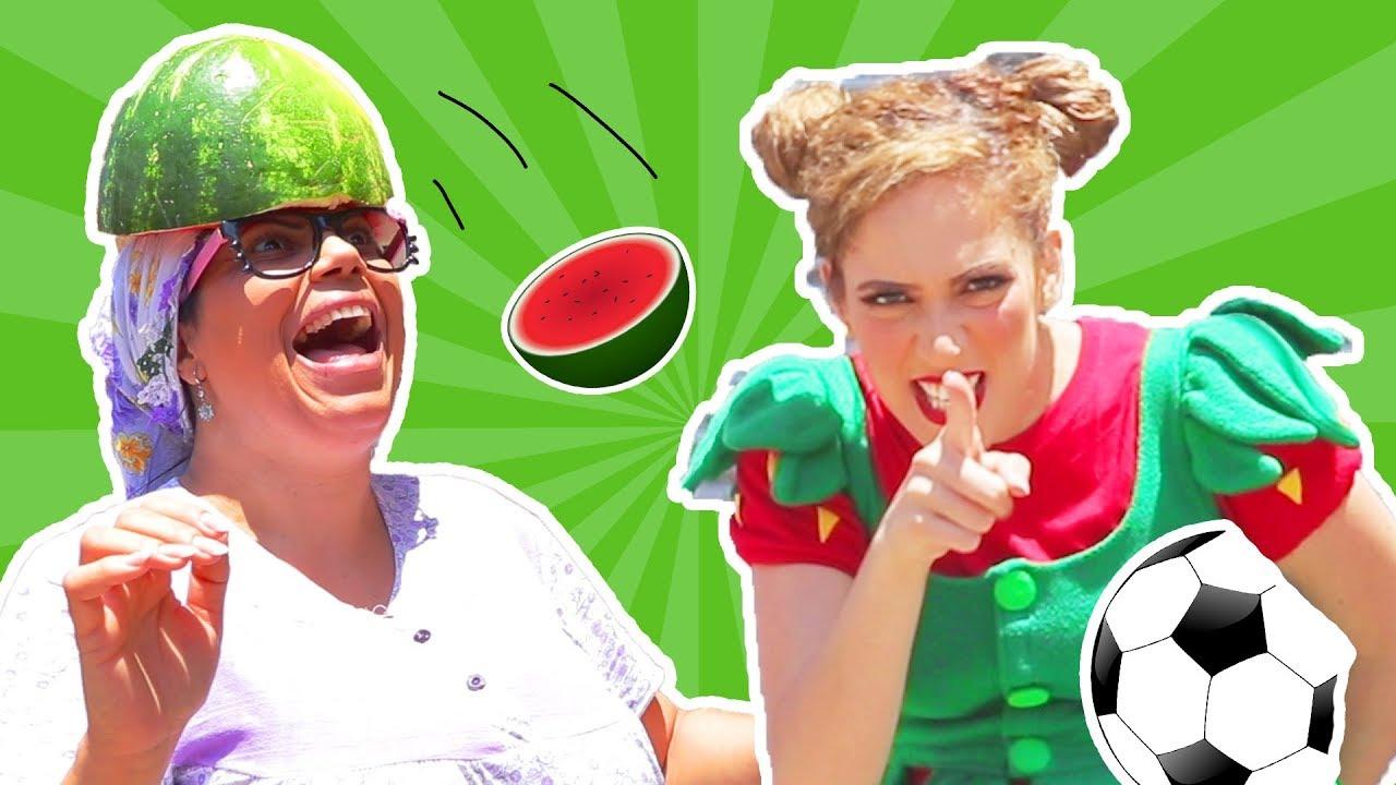 فوزي موزي وتوتي – تيتا والبطيخة  – teta and the watermelon