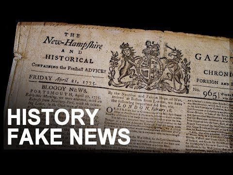 Fake News, Part 1: Origins and evolution