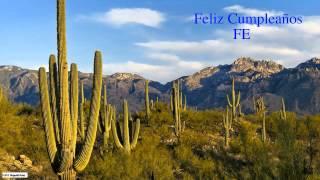 Fe  Nature & Naturaleza - Happy Birthday