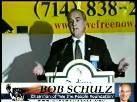Bob Schulz, We the People Congress and Foundation