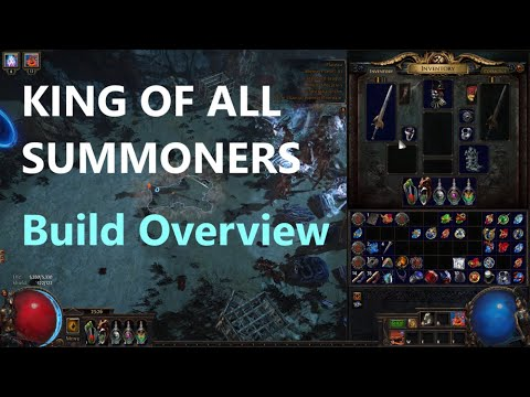 King Of All Summoners Build Overview: 1 Link Zombie FARMING T16s.. WTF!!! Craziness Starts At 47:40