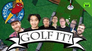 Rocket Beans vs PietSmiet 🎮 Golf it! #39