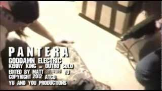 PANTERA - Goddamn Electric featuring Kerry King - fan made Music Video