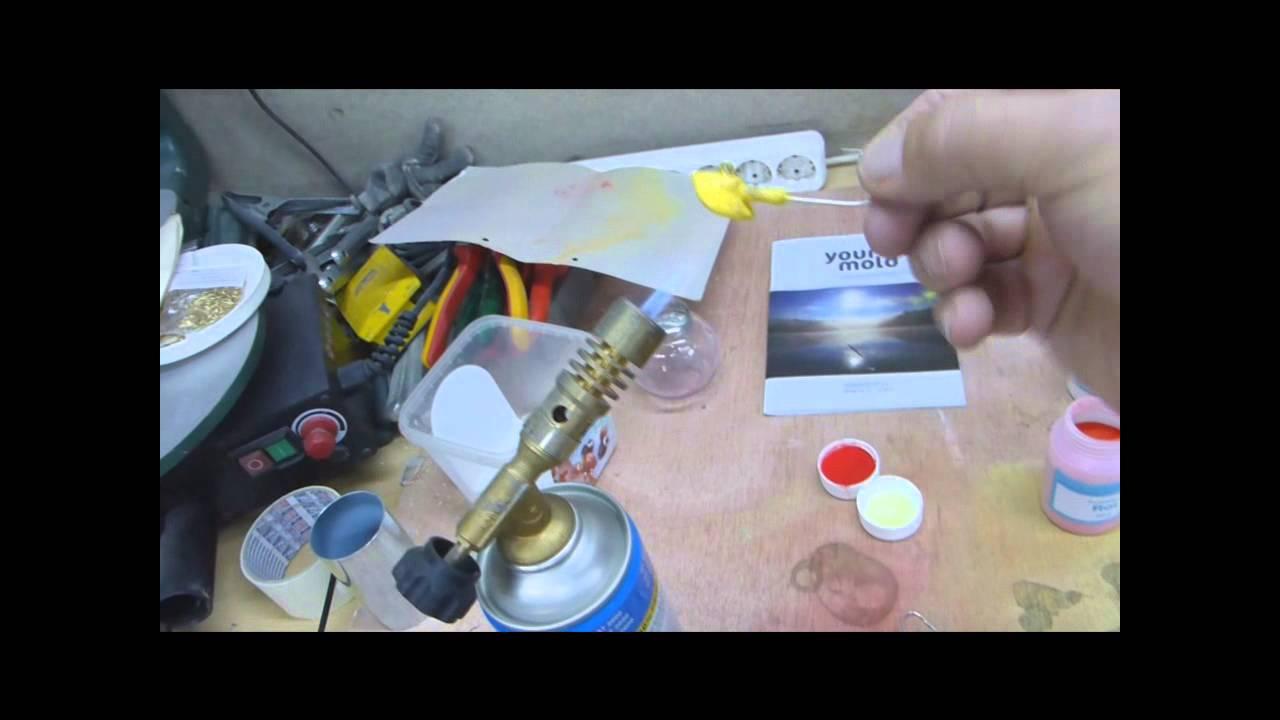 jigköpfe selbst pulverbeschichten - youtube