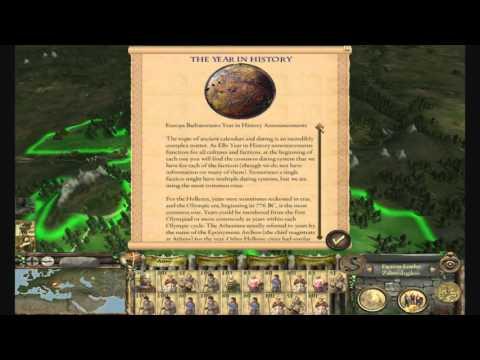 Let's Play Medieval 2 Total War - Europa Barbarorum II mod - Part 1
