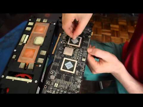 Como Reparar Placa de Video ATI Radeon HD 5970 en el horno.
