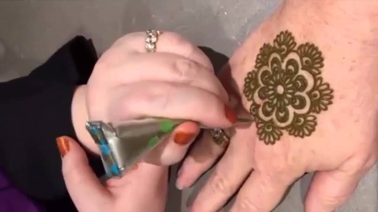 Mehndi Flower Designs For Hands : Unique flower mehndi designs for hands love youtube