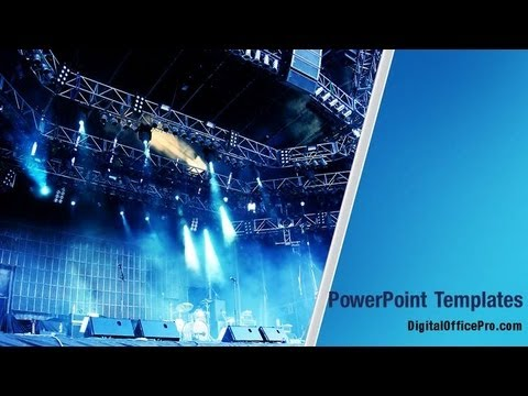 Concert stage powerpoint template backgrounds digitalofficepro concert stage powerpoint template backgrounds digitalofficepro 00231w toneelgroepblik Gallery
