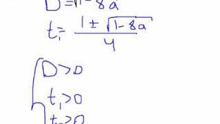 ЕГЭ математика С5. Логарифм и параметр. Видео урок.