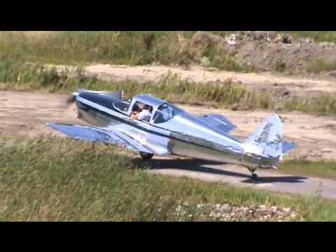 Globe GC-1B Swift Taxiing, Takeoff and Landing CSU3