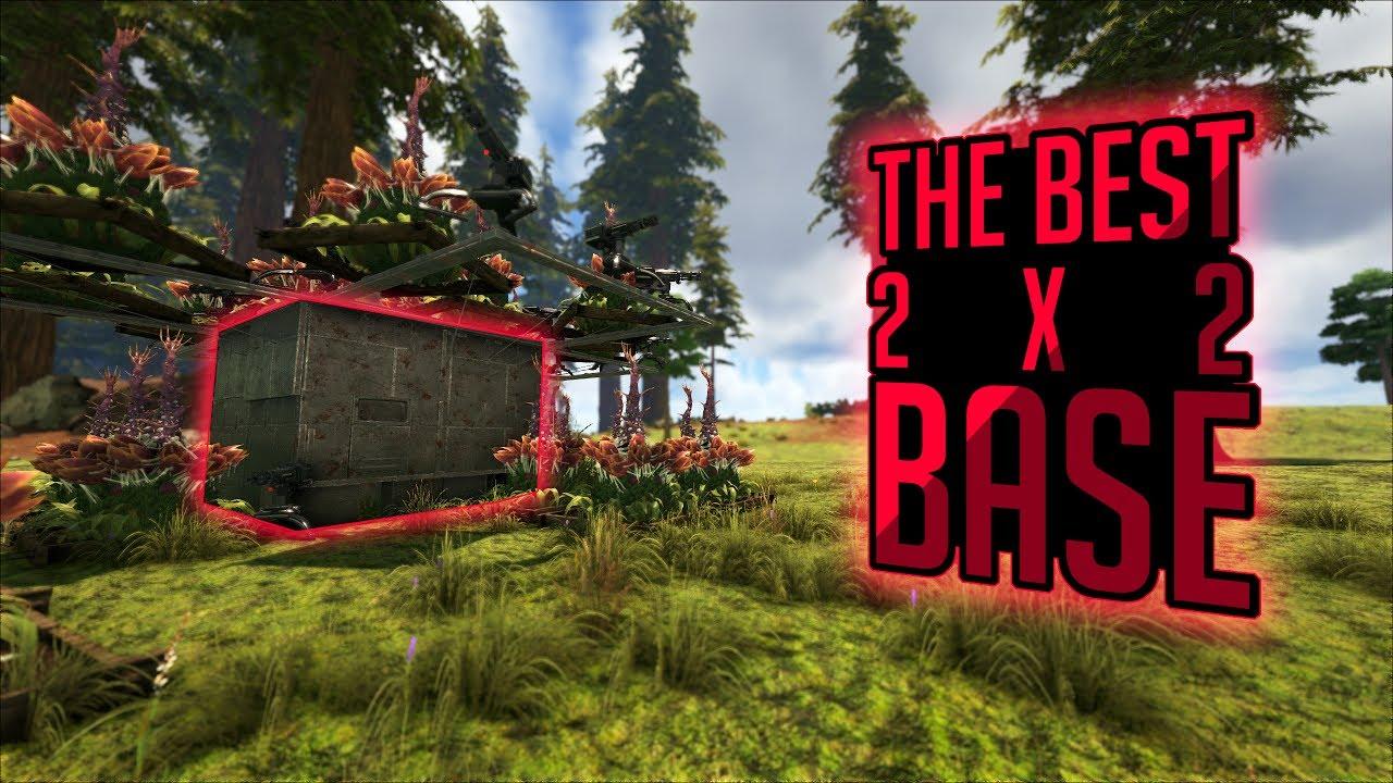 Superb The Best 2x2 PvP Base Design In ARK: Survival Evolved