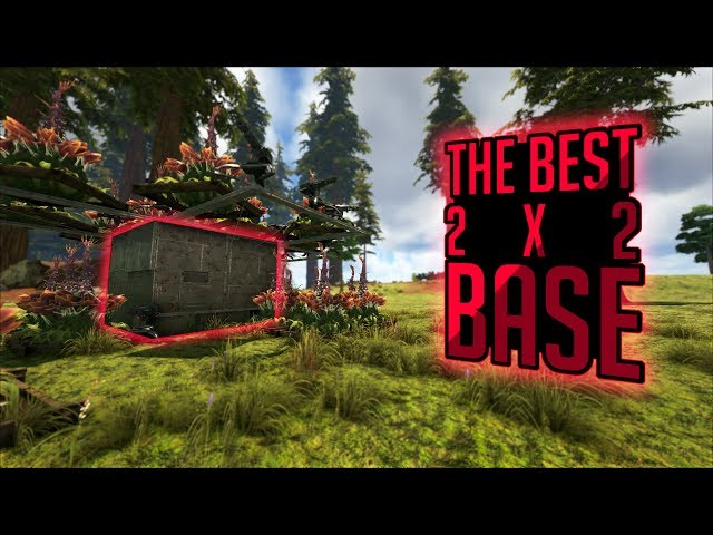 Exfib0 The Best 2x2 Pvp Base Design In Ark: Survival Evolved