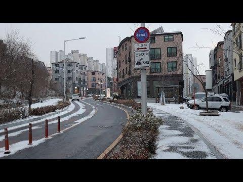 Winter in South korea (Daejeon)